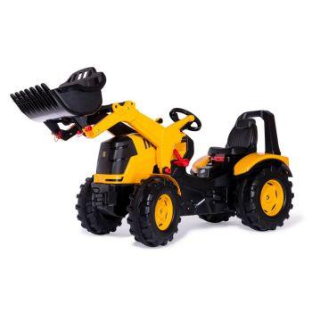 Веломобіль Rolly Toys Трактор з ковшем rollyX-Trac Premium JCB чорно-жовтий (651139)