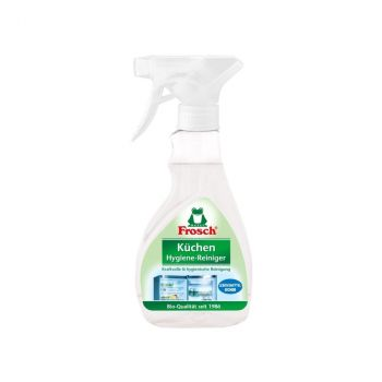 Спрей для чищення кухні Frosch гігієнічний очисник 300 мл (4001499926143)